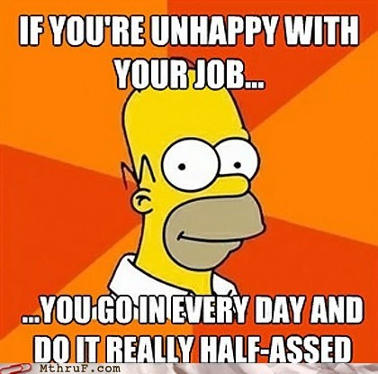hate your job homer homer simpson the simpsons