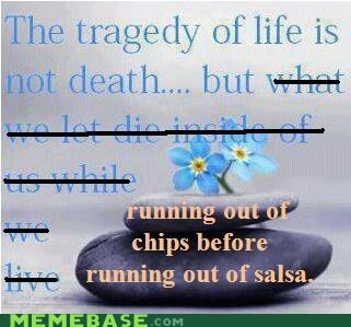 chips and salsa Death hipster edit tragedy weird kid