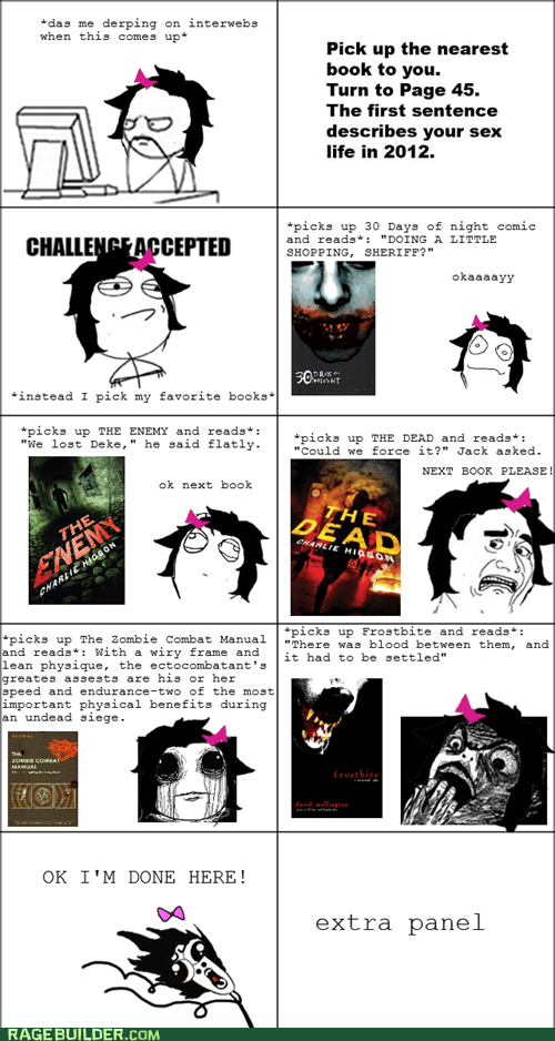 books,games,Rage Comics,sex life