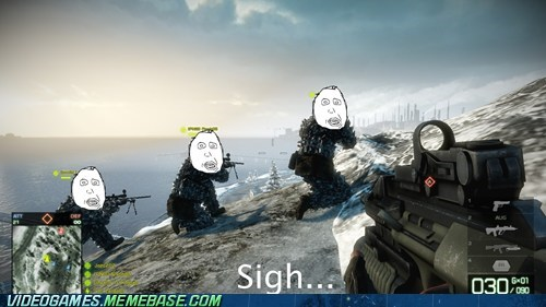 Battlefield 3,gameplay,same area,snipers,usual teammates,wtf