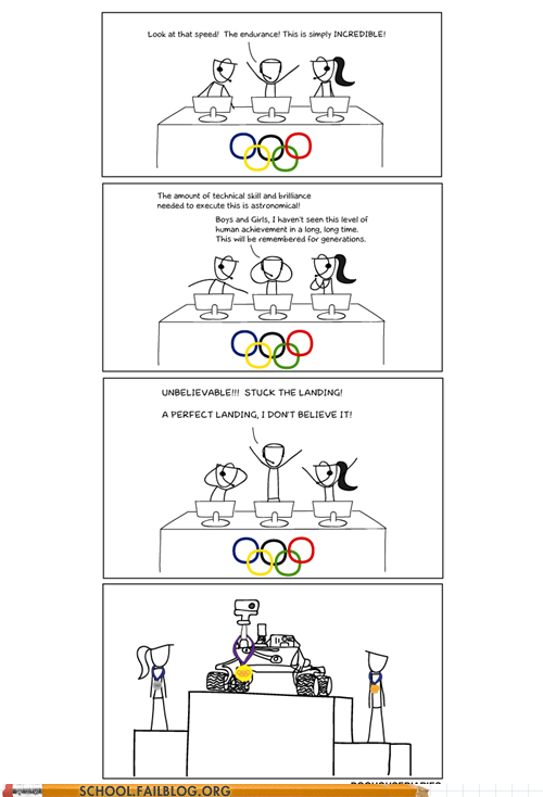 doghouse diaries,gold medal,mars rover,olympics,ROFLympics