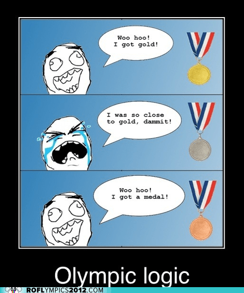 bronze,gold,logic,London 2012,olympics,Rage Comics,silver