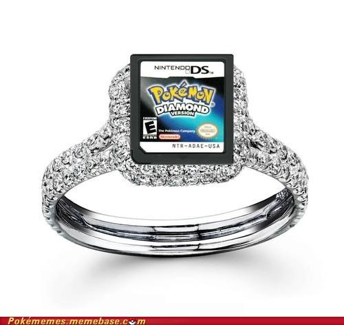 diamond ring the internets wedding