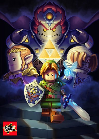 legend of zelda,lego,ocarina of time
