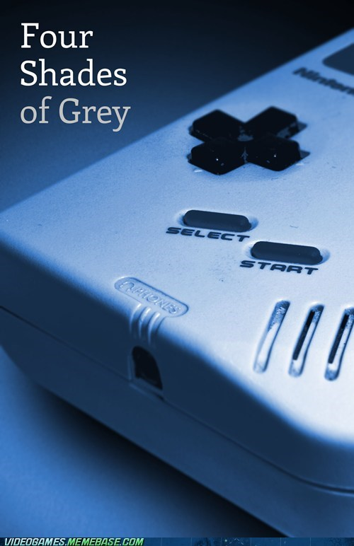 bleeps cover fifty shades of grey game boy meme nintendo - 6491792896