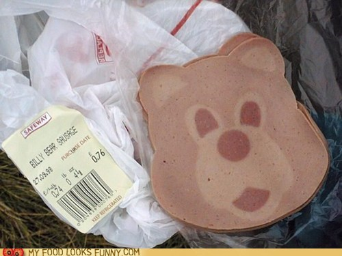 bear bologna deli meat lunch meat meat