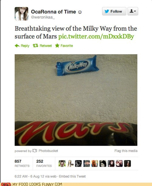 candy bars chocolate Mars milky way Photo