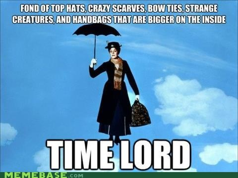 actor,celeb,disney,doctor who,Julie Andrews,mary poppins,Time lord