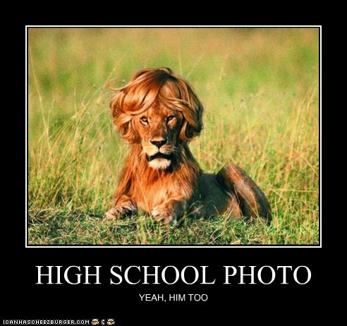everyone,hair,high school,lion,Photo,universal