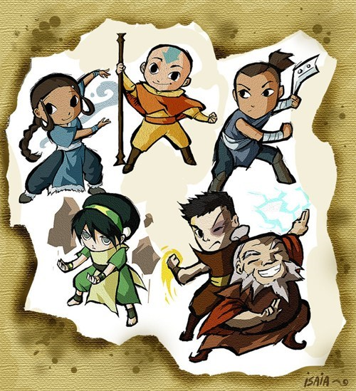 Avatar the Last Airbender avatar-the-last-airbende cartoons crossover Fan Art legend of zelda video games - 6492114688