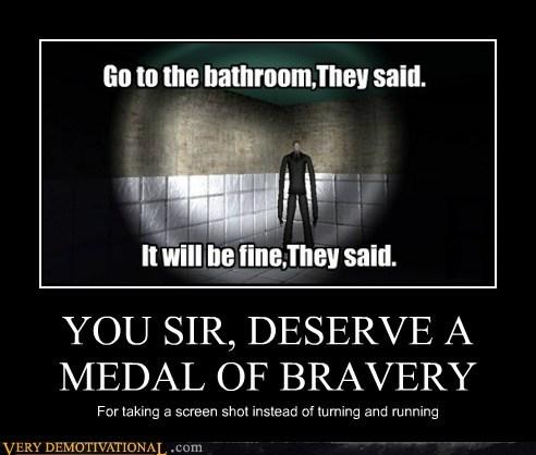 bravery hilarious medal slenderman - 6492244992