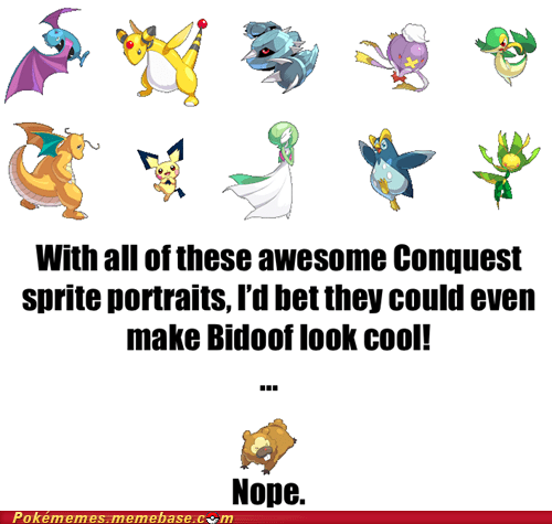 bidoof,pokemon conquest,spinoff,sprites,the internets