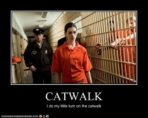 CATWALK I do my little turn on the catwalk