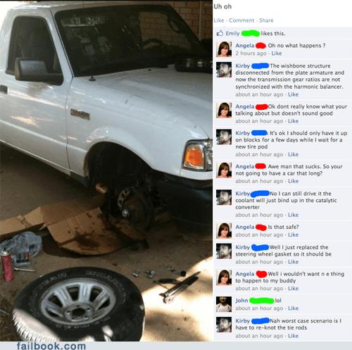 cars fixing mechanic repair there I fixed it trolling - 6492934656