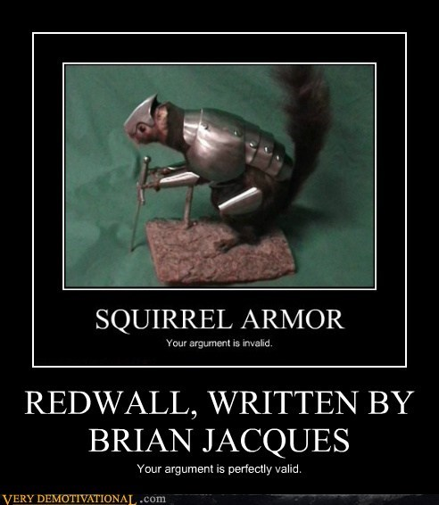 brian jaques Pure Awesome redwall squirrel - 6492967936