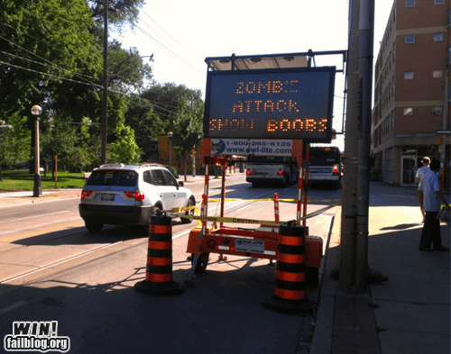 "Having won ""Best Toronto Neighbourhood"" in The Star, Leslieville cements its victory with an epic traffic sign."