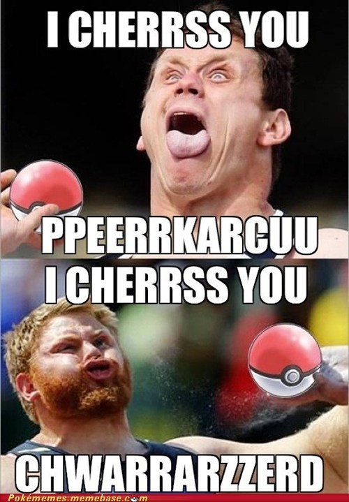 derp i choose you shotput the internets the olympics - 6493127936