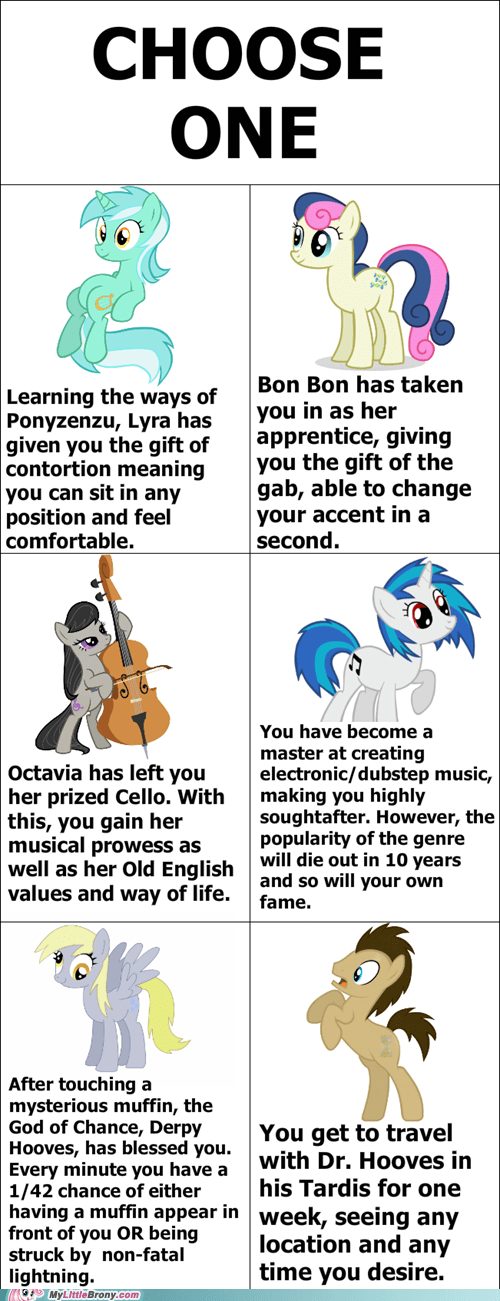 background ponies choose one choose wisely the internets - 6493149184