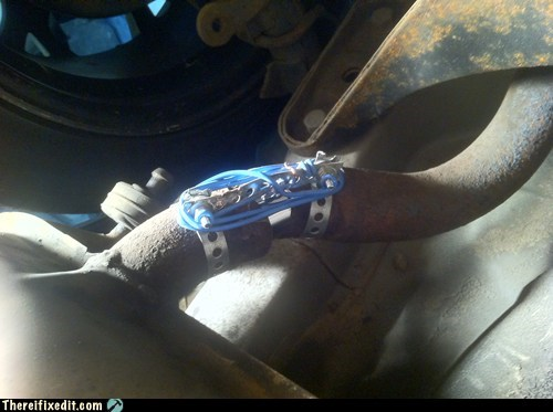cord exhaust exhaust pipe muffler - 6493243136