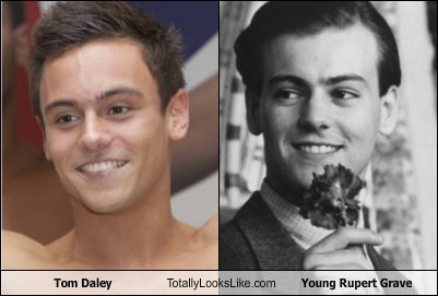 funny London 2012 olympics TLL tom daley young rupert grave - 6493795584