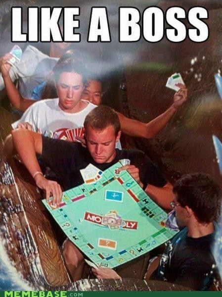 Like a Boss log flume monopoly ride splash mountain - 6493863168
