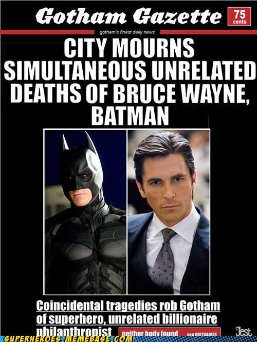 batman bruce wayne gotham gazette Super-Lols - 6494048000