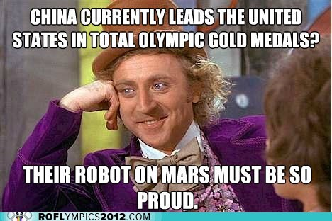 mars rover sarcastic wonka team usa We win
