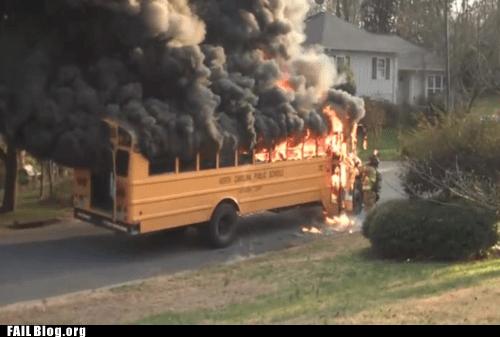 fire school bus - 6494158080