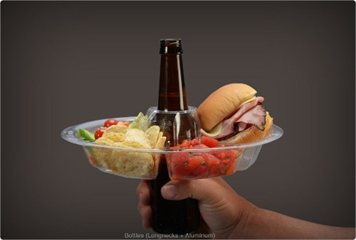 Afternoon Snack double fisting go plate - 6494196992