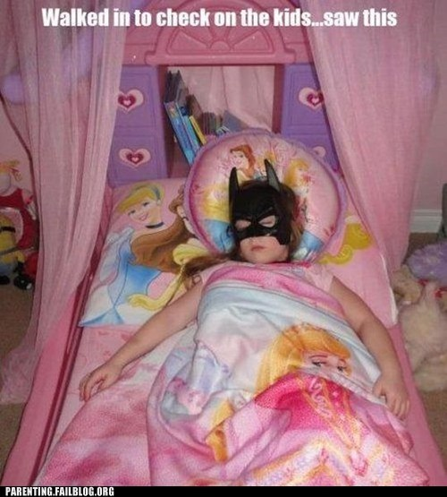 batman,disney princesses,sleeping