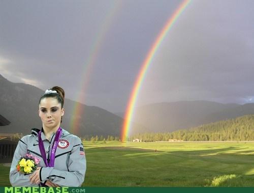 double rainbow mckayla Memes olympics - 6494376704
