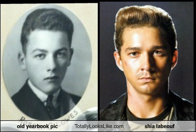 old yearbook pic Totally Looks Like shia labeouf