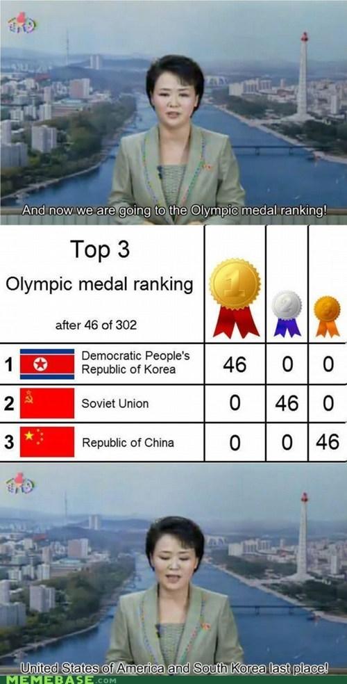 fake korea Memes North Korea olympics - 6494512896