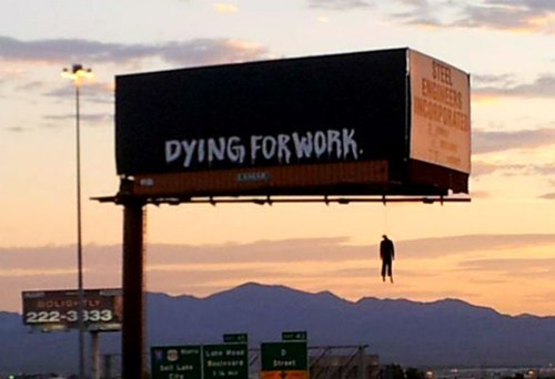 las vegas billboards,Occupy Wall Street,wtf