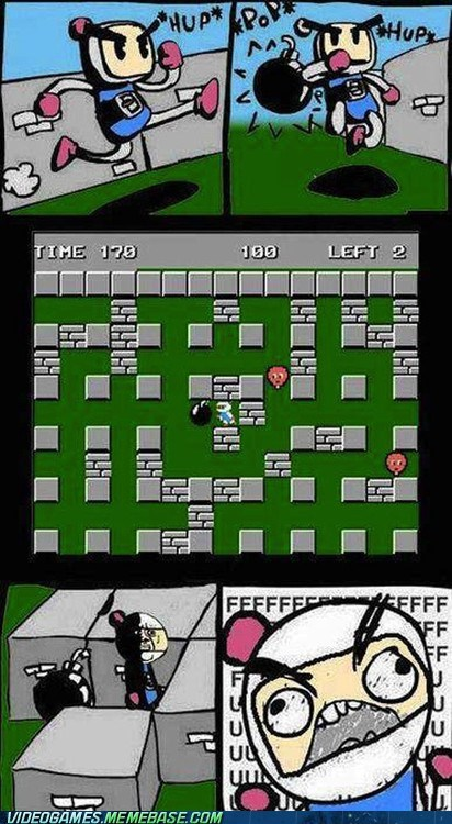 bomberman comic fuuuu mistake omg Sad - 6494550016