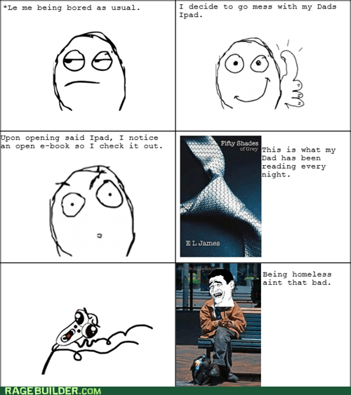50 shades of grey,omg run,parenting,Rage Comics