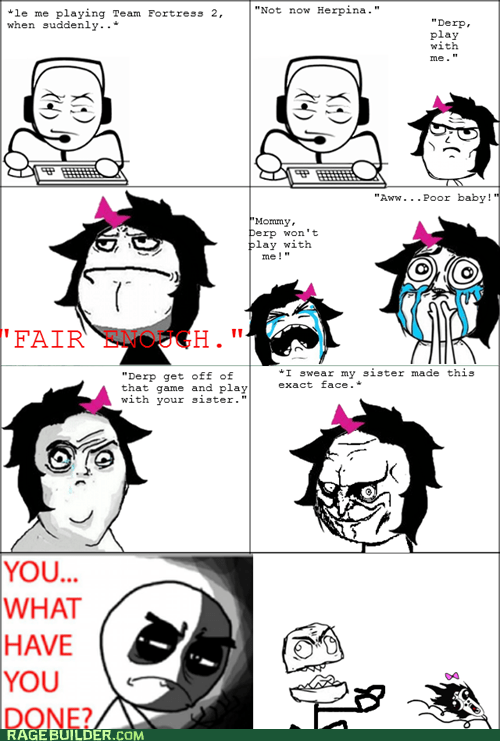 cuteness overload Rage Comics what have you done yes - 6494615552
