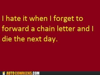 chain letter dying forward this message - 6494677248
