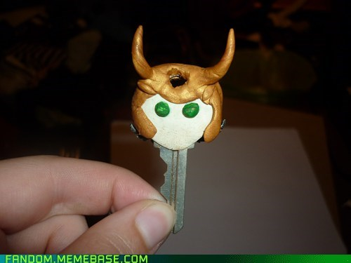 avengers,crafts,cute,It Came From the,It Came From the Interwebz,key,loki
