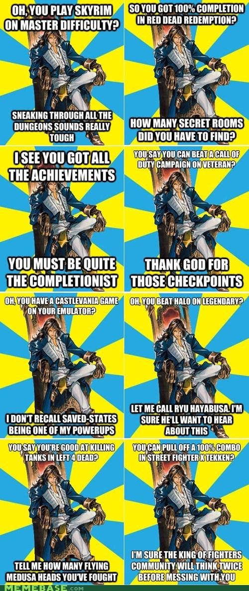 best of week Castlevania condescending castlevania meme richter belmont - 6494755328