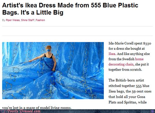 bag dress fashion ikea weird - 6494768640
