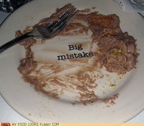 dessert mistake plate print run - 6494784512