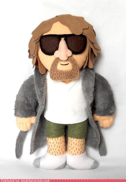 jeff bridges,Plush,the big lebowski,the dude
