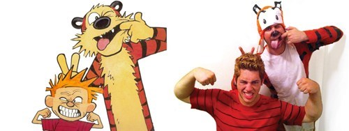 calvin and hobbes,cartoons,comics,cosplay,cute