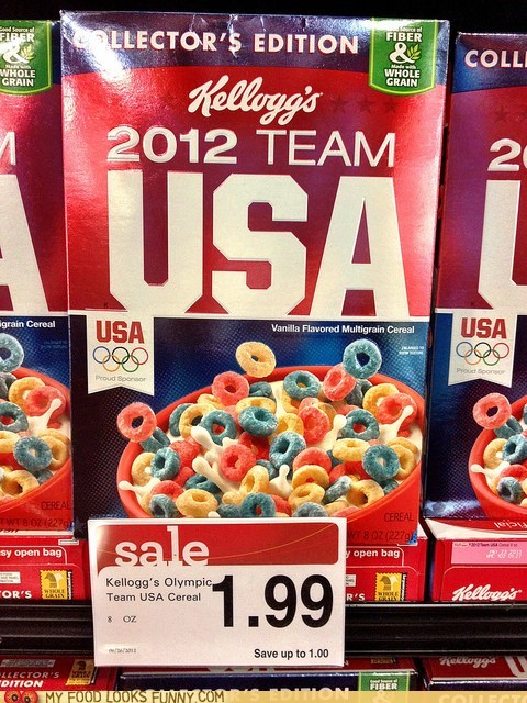 cereal kelloggs olympics usa