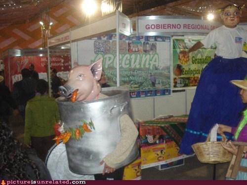 where am i costume food festival pig - 6494834688