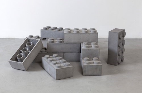 bricks concrete design lego toy