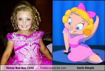 animation celeb darla dimple funny Honey Boo Boo Child TLL