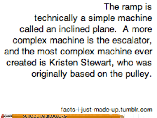 class is in session fake facts kristen stewart physics 529 suspects - 6495613440