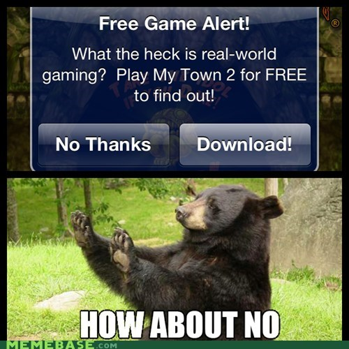 bear,bees,download,games,how about no,Memes